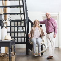 Handicare Freecurve stairlift
