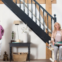 Handicare Stairlifts couple